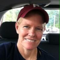 krissy in Phillies ballcap smiling